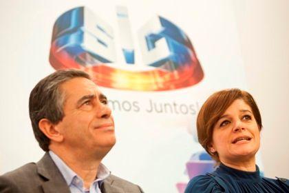 Luís Marques confia na apresentadora