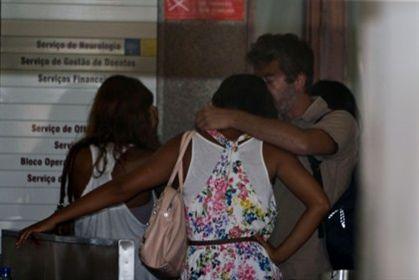 Rita Pereira tem estado sempre presente junto ao ex-namorado
