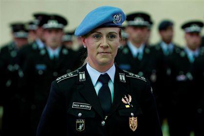 A comissária Paula Monteiro.