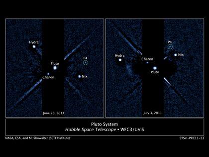 As imagens do Hubble que mostram a nova lua de Plutão P4