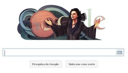 Google comemora 91 anos de Amália