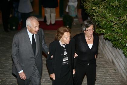 Mário Soares, Maria Barroso e Isabel Soares