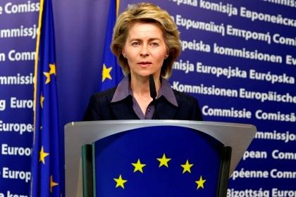 Ursula von der Leyen, ministra do Trabalho alemã