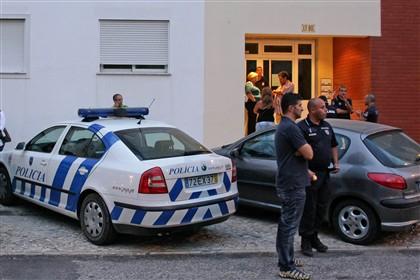 Edifício ontem vivia o casal, em Setúbal, e onde ocorreu o crime