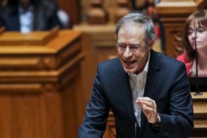 Francisco Louçã, coordenador do Bloco de Esquerda