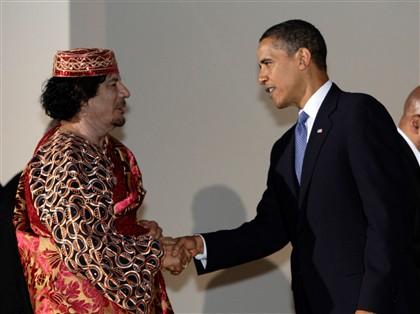 Em 2009, numa altura em que era recebido de braços abertos pelos líderes internacionais, com Barack Obama