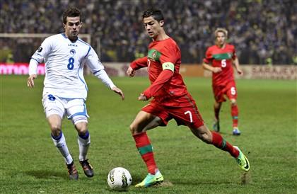 """Cristiano Ronaldo: """"não era um relvado era uma horta"""""""