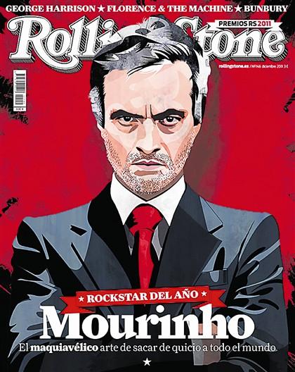 """Mourinho """"estrela rock"""" do ano pela Rolling Stone"""