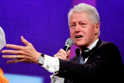 Bill Clinton, ex-presidente norte-americano