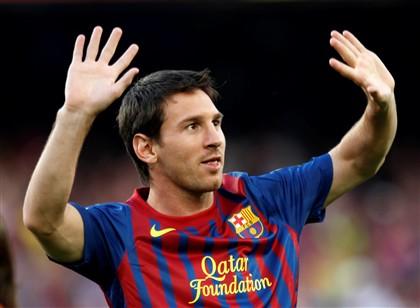 Messi eleito o melhor jogador da Europa