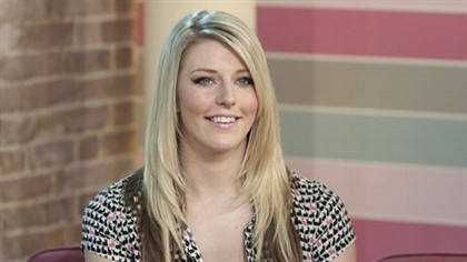 "Hazel Jones no programa ""This Morning' da ITV1"