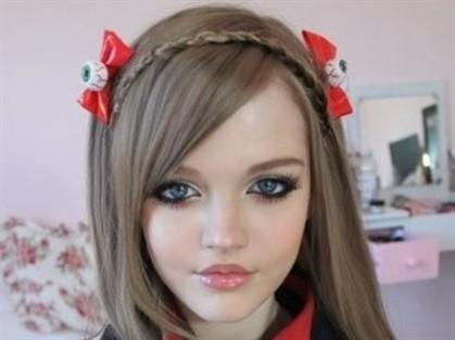 Dakota Rose, a Barbie real com sucesso nas redes sociais