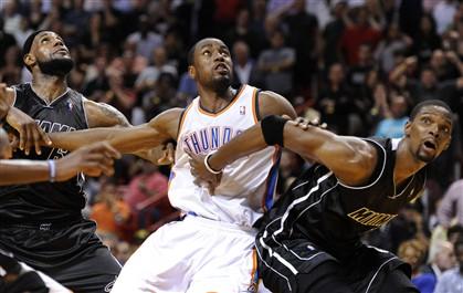 Miami Heat, líder da Conferência Oeste, venceu o Oklahoma City