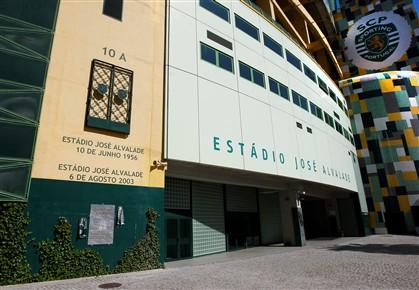 Inspectores da PJ estiveram hoje de manhã na sede do Sporting. Casa e