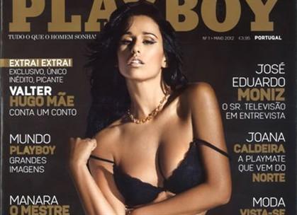 atriz foi capa no relançamento da revista masculina em Portugal
