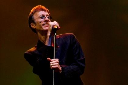 Robin Gibb, cantor do grupo britânico Bee Gees