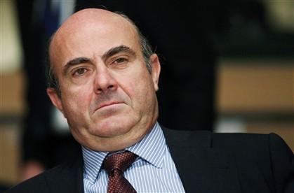 O ministro da Economia espanhol, Luis de Guindos
