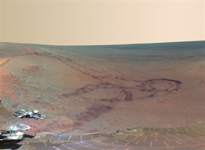 NASA publica panorâmicas de 360º do planeta vermelho