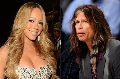 A produ��o quer Mariah Carey no lugar do vocalista dos Aerosmith