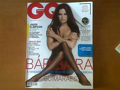 Bárbara Guimarães ousada na capa da revista 'GQ'