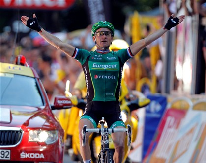 Voeckler vence 16.� etapa do Tour