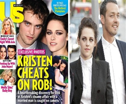 Kristen Stewart traiu Robert Pattinson