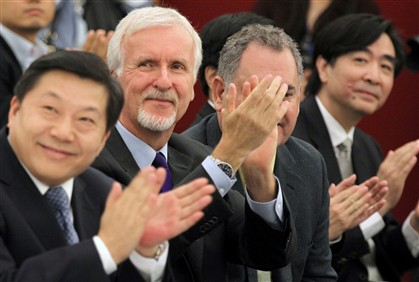 James Cameron desenvolve cinema 3D na China