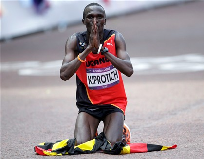 Ugand�s Stephen Kiprotich conquista ouro