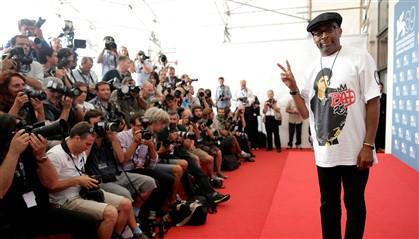 Spike Lee esteve em Veneza a apresentar o filme