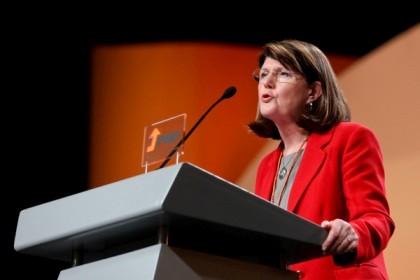 Berta Cabral, candidata do PSD à presidência do Governo Regional