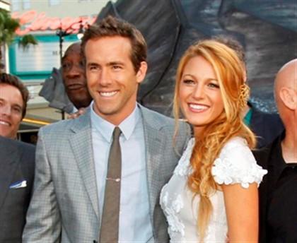 """O casal na estreia do filme """"Lanterna Verde"""", em Hollywood."""