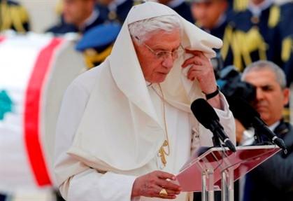 """Bento XVI exorta a dizer """"não à vingança"""""""