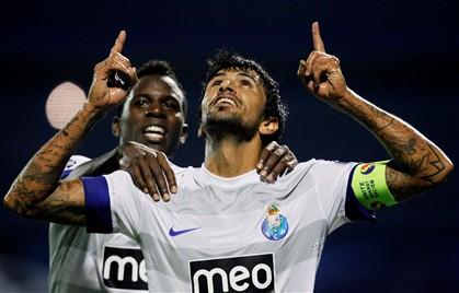 FC Porto entra a vencer em Zagreb