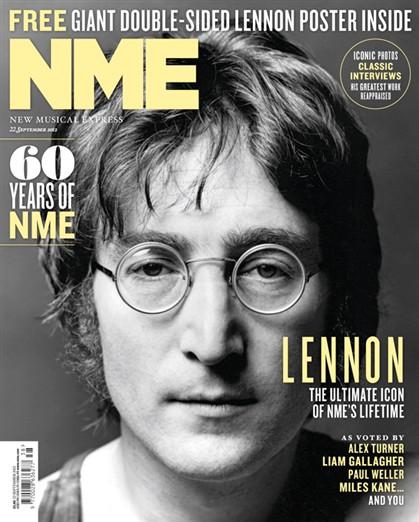 John Lennon eleito derradeiro ícone da música