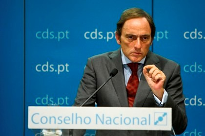 Paulo Portas, líder do CDS-PP