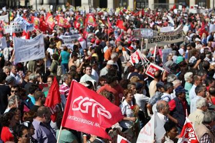 Data de greve geral discutida pela CGTP na quarta-feira