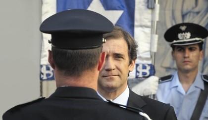 Fusão de polícias congela admissões durante cinco anos