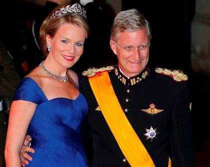 Os príncipes estiveram este fim de semana no Luxemburgo, onde assistiram ao casamento do herdeiro do trono do Grã Ducado