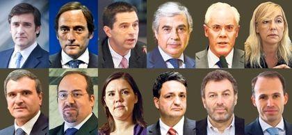 Metade dos ministros de Passos formou-se no privado