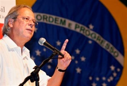 Dirceu era o braço direito de Lula da Silva.