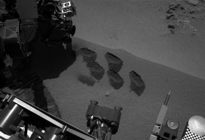 """Robô 'Curiosity' faz descoberta """"histórica"""""""