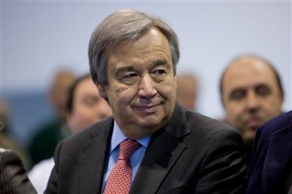 António Guterres está de visita a Portugal