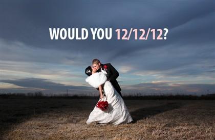 Milhares de pessoas irão casar neste dia.