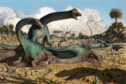 A nova espécie de dinossauro