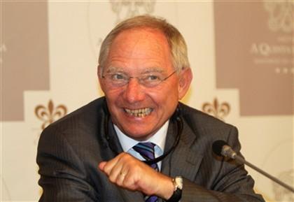 """""""O pior da crise da zona euro já passou"""", diz Schäuble"""
