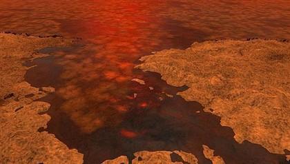 Descoberto gelo flutuante nos mares do satélite Titã