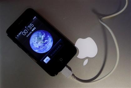 Um dos muitos tipos de iPhone falsos que são comercializados na China.