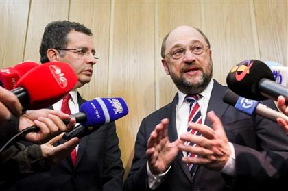 Martin Schulz, presidente do Parlamento Europeu, realiza hoje a sua primeira visita oficial a Portugal