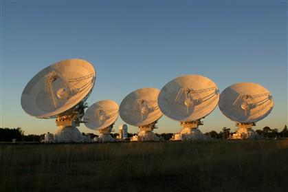 Telescópios da CSIRO, na Austrália