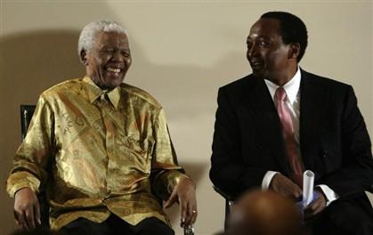 O magnata africano também já foi responsável por doações para a fundação de Nelson Mandela.